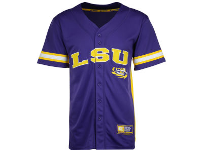 LSU Tigers Colosseum NCAA Men's Strike Zone Baseball Jersey
