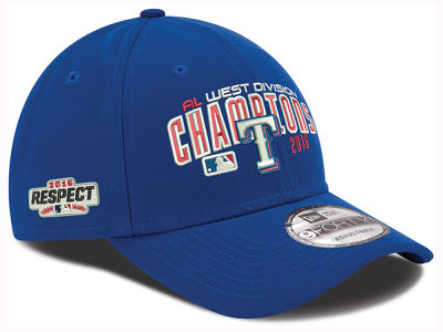 Texas Rangers New Era MLB 2016 Respect Patch 9FORTY Cap