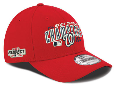 Washington Nationals New Era MLB 2016 Respect Patch 9FORTY Cap