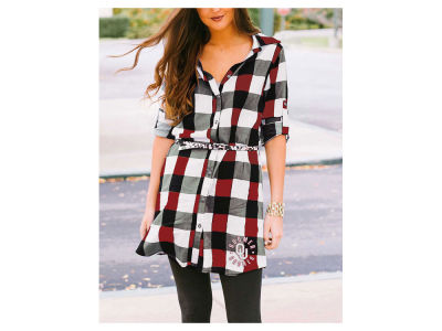 Oklahoma Sooners Gameday Couture NCAA Women's Plaid  Dress