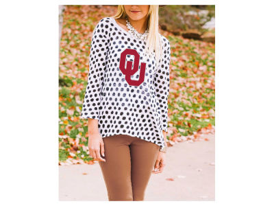 Oklahoma Sooners Gameday Couture NCAA Women's Polka Dot Sweater