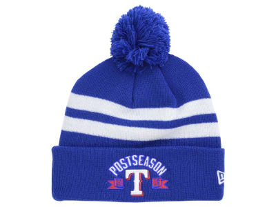 Texas Rangers New Era MLB 2016 Post Season Knit Cap