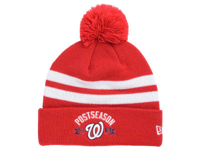Washington Nationals New Era MLB 2016 Post Season Knit Cap