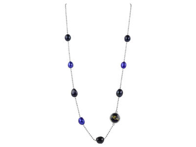Baltimore Ravens Honora Necklace Multi Color Pearls