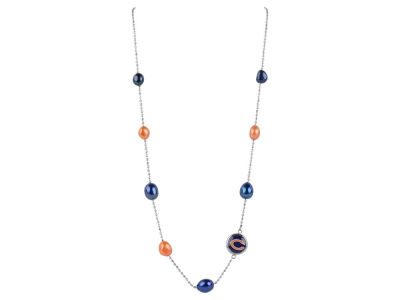 Chicago Bears Honora Necklace Multi Color Pearls