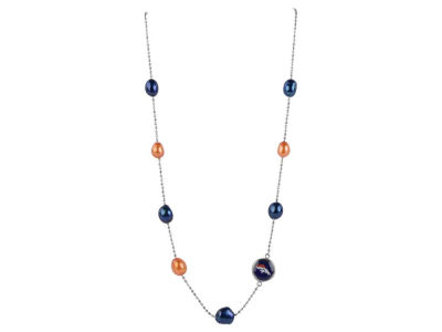 Denver Broncos Honora Necklace Multi Color Pearls