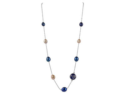 Los Angeles Rams Honora Necklace Multi Color Pearls