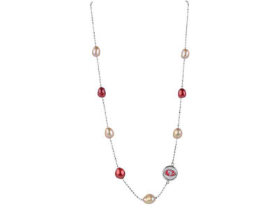 San Francisco 49ers Honora Necklace Multi Color Pearls