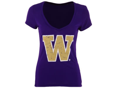 Washington Huskies Blue 84 NCAA Women's Juniors Mascot T-Shirt