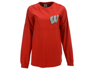 Wisconsin Badgers Pressbox NCAA Women's Big Glitter Sweeper