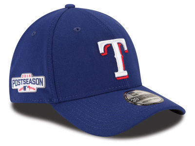 Texas Rangers New Era MLB 2016 Post Season Patch 39THIRTY Cap