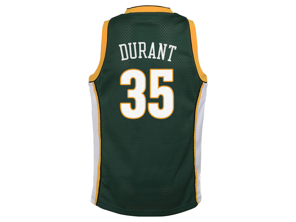 Seattle SuperSonics Kevin Durant adidas NBA Youth Swingman Hardwood ...