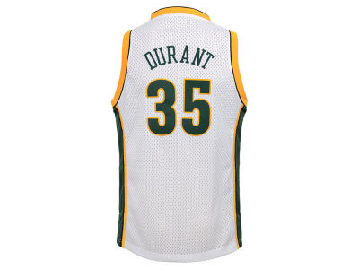 Seattle SuperSonics Kevin Durant adidas NBA Youth Swingman Hardwood Classic Jersey
