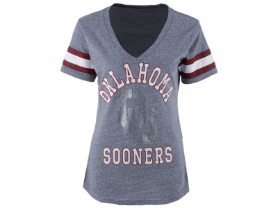 Oklahoma Sooners GIII NCAA Women's Triple Play T-Shirt