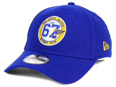 St. Louis Blues New Era NHL 50th Anniversary 39THIRTY Cap