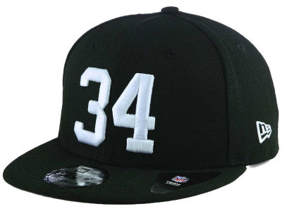Oakland Raiders New Era NFL Number Jerz 9FIFTY Snapback Cap