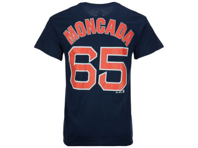 Boston Red Sox Yoan Moncada MLB Men's Official Player T-Shirt