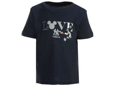 New York Yankees MLB Infant Girls Mickey Love T-Shirt