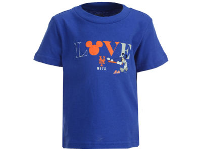 New York Mets Outerstuff MLB Infant Girls Mickey Love T-Shirt