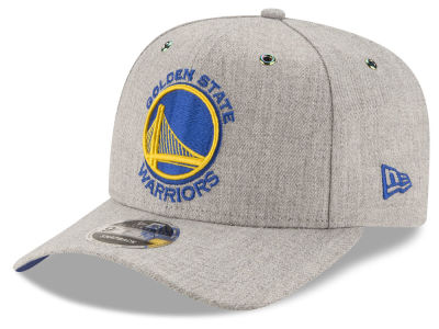 Golden State Warriors New Era NBA Heather Flect 9FIFTY Snapback Cap