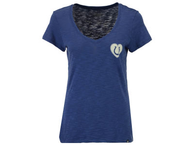 Indianapolis Colts '47 NFL Women's Rundown Love Scrum T-Shirt
