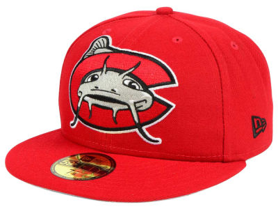 Carolina Mudcats New Era MiLB Logo Grand 59FIFTY Cap
