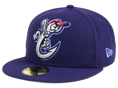 Corpus Christi Hooks New Era MiLB Logo Grand 59FIFTY Cap