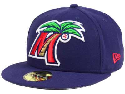 Fort Myers Miracle New Era MiLB Logo Grand 59FIFTY Cap