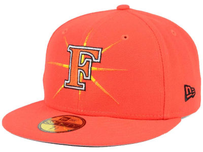 Frederick Keys New Era MiLB Logo Grand 59FIFTY Cap