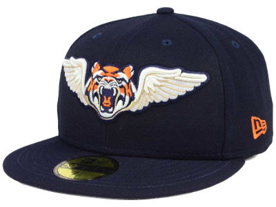 Lakeland Flying Tigers New Era MiLB Logo Grand 59FIFTY Cap