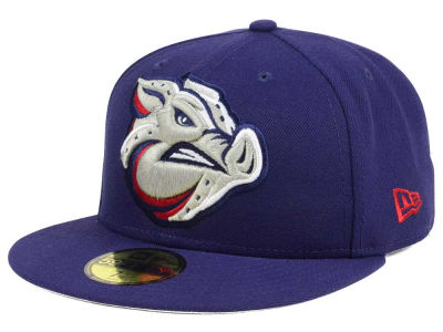 Lehigh Valley IronPigs New Era MiLB Logo Grand 59FIFTY Cap
