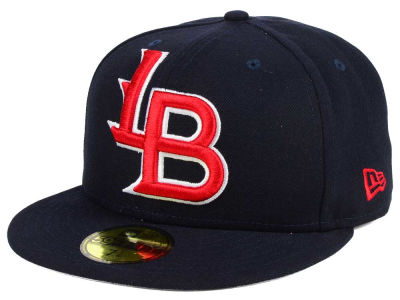 Louisville Bats New Era MiLB Logo Grand 59FIFTY Cap