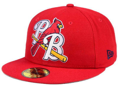 Palm Beach Cardinals New Era MiLB Logo Grand 59FIFTY Cap