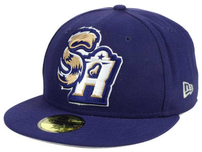 San Antonio Missions New Era MiLB Logo Grand 59FIFTY Cap