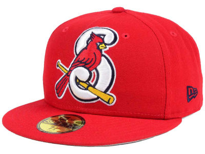Springfield Cardinals New Era MiLB Logo Grand 59FIFTY Cap