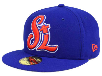 St. Lucie Mets New Era MiLB Logo Grand 59FIFTY Cap