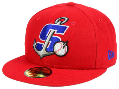 Stockton Ports New Era MiLB Logo Grand 59FIFTY Cap