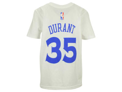 Golden State Warriors Kevin Durant adidas NBA Youth Name And Number T-Shirt