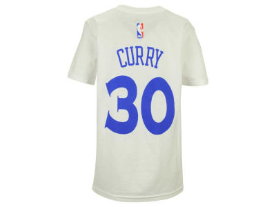 Golden State Warriors Stephen Curry adidas NBA Youth Name And Number T-Shirt