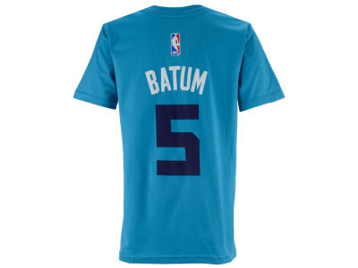 Charlotte Hornets Nicolas Batum adidas NBA Youth Name And Number T-Shirt
