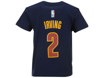 Cleveland Cavaliers Kyrie Irving NBA Kids Name And Number T-Shirt