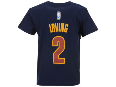 Cleveland Cavaliers Kyrie Irving NBA Toddler Name And Number T-Shirt