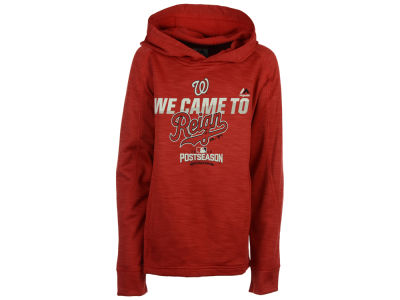 Washington Nationals Majestic MLB Youth Postseason Streak Hoodie