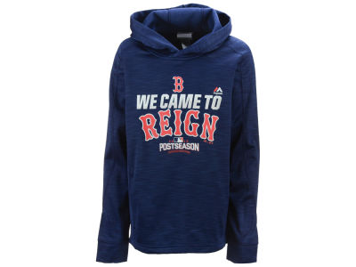 Boston Red Sox Majestic MLB Youth Postseason Streak Hoodie