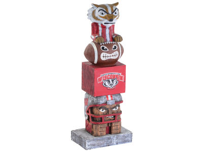 Wisconsin Badgers Evergreen Enterprises Tiki Totem