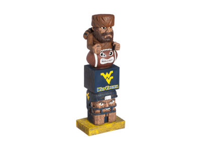 West Virginia Mountaineers Evergreen Enterprises Tiki Totem
