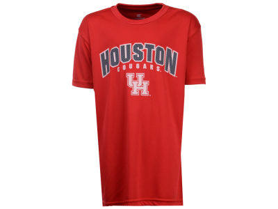 Houston Cougars Colosseum NCAA Youth Mesh Poly T-Shirt