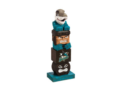 San Jose Sharks Evergreen Enterprises Tiki Totem