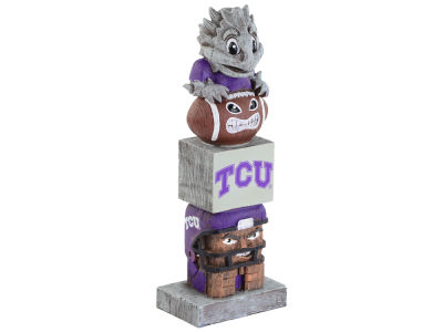 Texas Christian Horned Frogs Tiki Totem