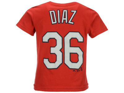 St. Louis Cardinals Aledmys Diaz Majestic MLB Toddler Official Player T-Shirt